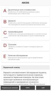 ABCDE, Принципы, основы, неотложной, помощи