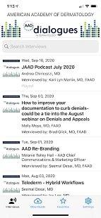 AAD Dialogues in Dermatology - подкасты по дерматологии