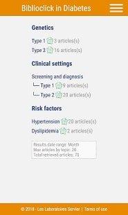 Biblioclick in Diabetes - інформаційні запити з ендокринології