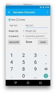 Приложения-калькуляторы по медицине 1