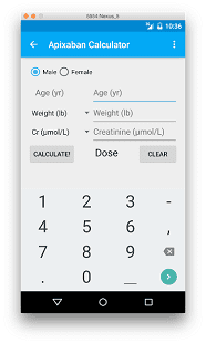 EP Mobile, калькулятор, кардиолога