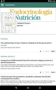 Endocrinology and Nutrition - журнал для ендокринологів