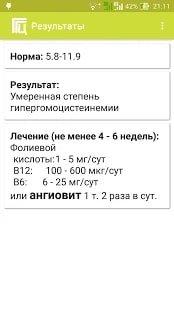 Гипергомоцистеинемия